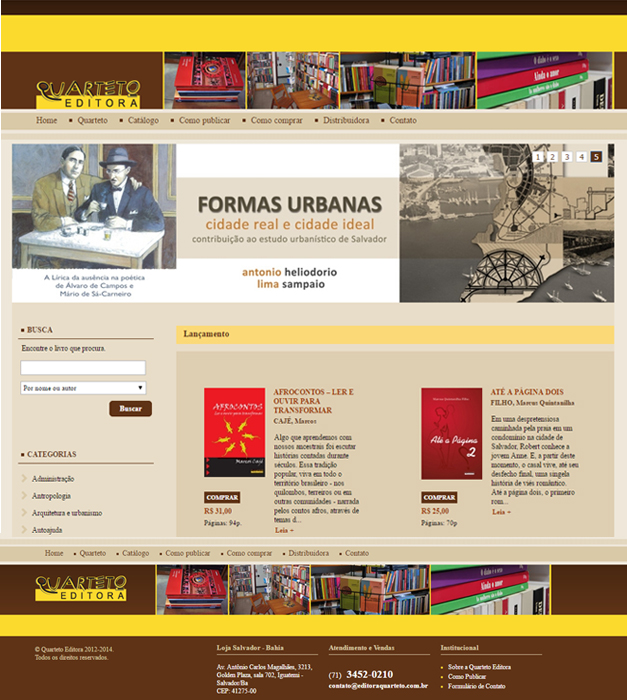 Conteúdo Site + Livros